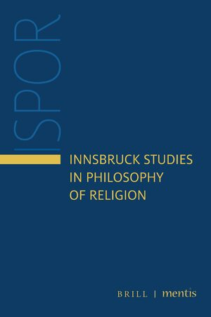 Cover Innsbruck Studies in Philosophy of Religion
