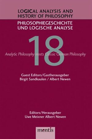 Cover Analytic Philosophy Meets History of Philosophy