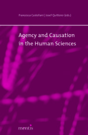 Cover Agency and Causation in the Human Sciences