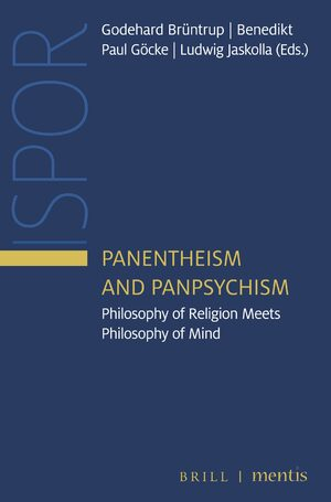 Cover Panentheism and Panpsychism
