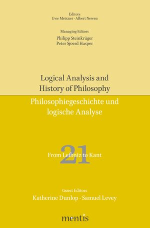 Cover From Leibniz to Kant