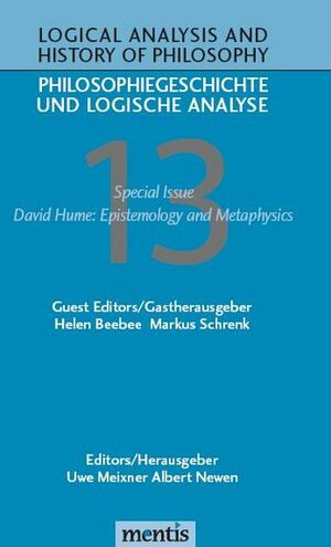Cover David Hume: Epistemology and Metaphysics
