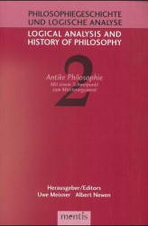 Cover Antike Philosophie / Ancient Philosophy