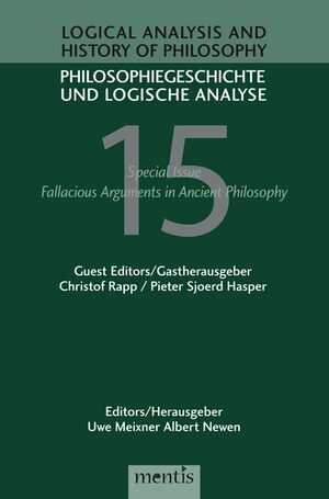 Cover Fallacious Arguments in Ancient Philosophy