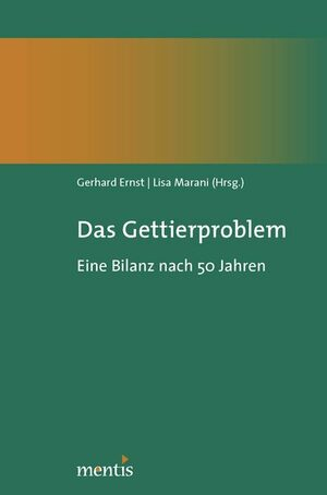 Cover Das Gettierproblem