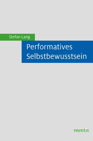 Cover Performatives Selbstbewusstsein