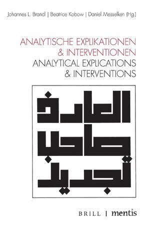 Cover Analytische Explikationen & Interventionen